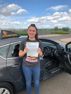 Pass your driving test with Direct Drive Hub Barton upon Humber