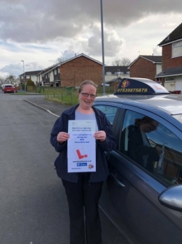 Michaella Gunn Passes her driving test 1st time with Direct Drive Hub.